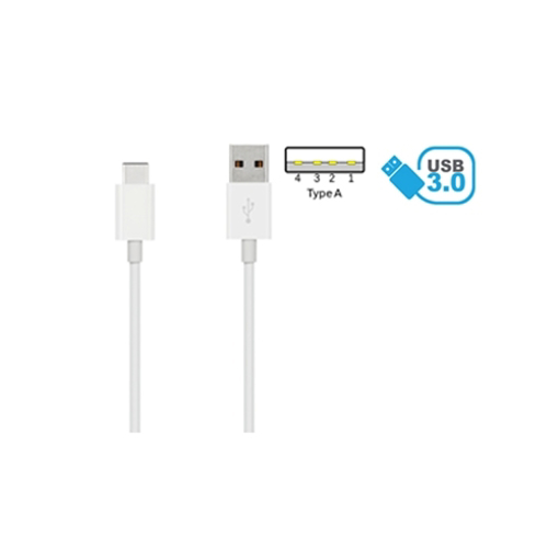 Image de CAVO USB 3.0 TYPE-CM A TYPE-AM 1METRO BIANCO