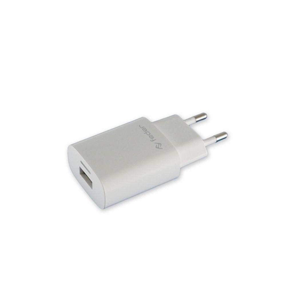 Immagine di ALIMENTATORE USB RETE ELETTRIC 1USB 1000 MHA BIANCO