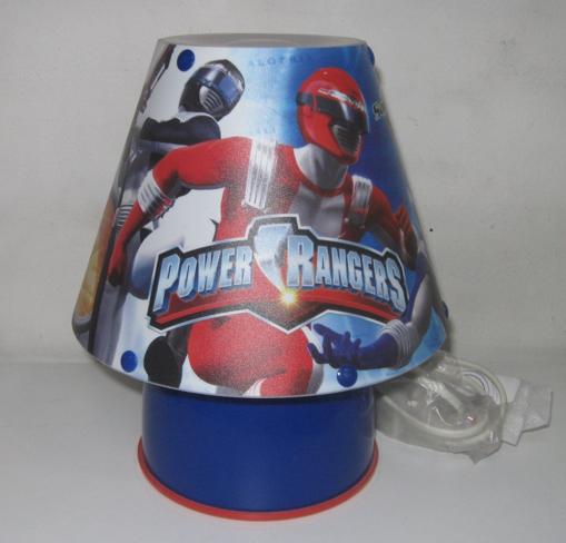 Image de LAMPADA POWER RANGERS DA COMODINO