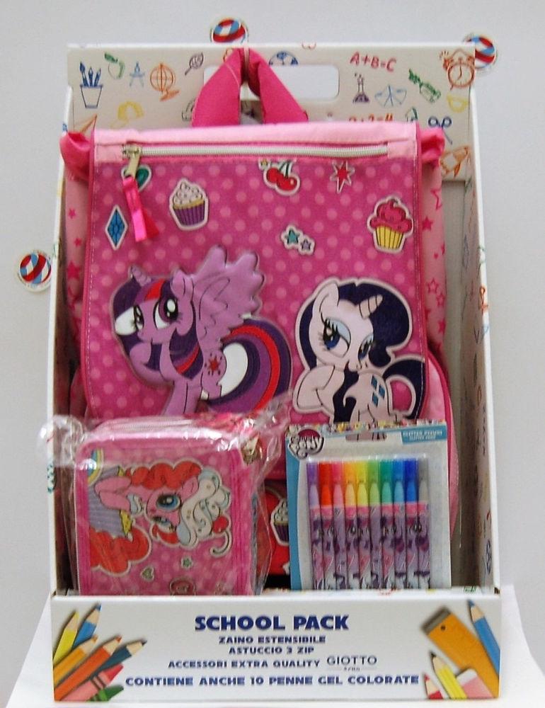 Immagine di SCHOOL PACK MY LITTLE PONY ZAINO ESTENSIBILE+ASTUCCIO TRIPLO