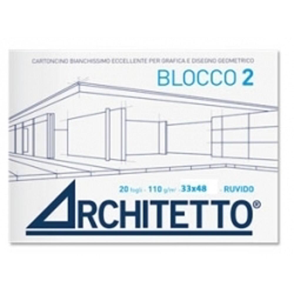 Immagine di ALBUM ARCHITETTO 24X33 CM 20FG 110GR RUVIDO