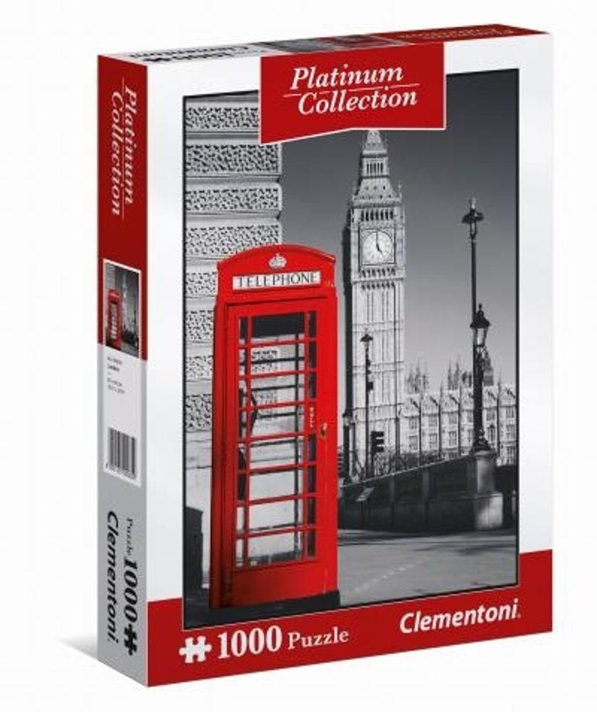 Immagine di PUZZLE CLEMENTONI PLATINUM COLLECTION LONDRA 1000 PEZZI
