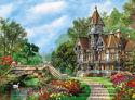 Immagine di PUZZLE CLEMENTONI 500PZ OLD WATERWAY COTTAGE