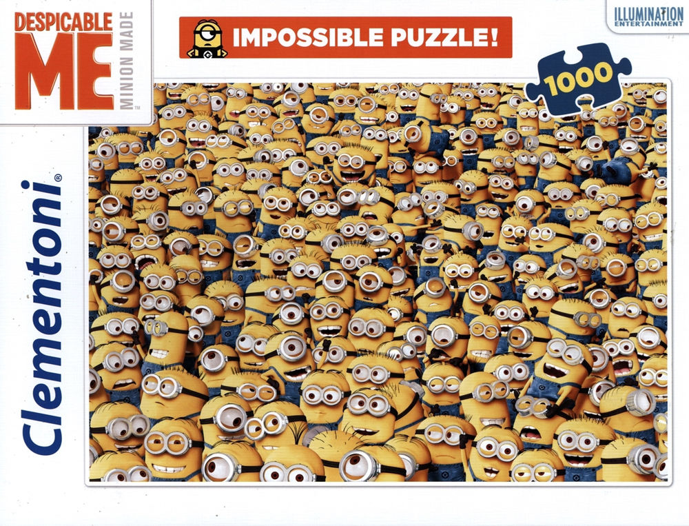 Immagine di PUZZLE PZ 1000 CLEMENTONI GLI IMPOSSIBILI MINIONS