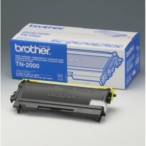 Image de TONER BROTHER TN-2000-2.500 PG X HL-2030/2040/2070N