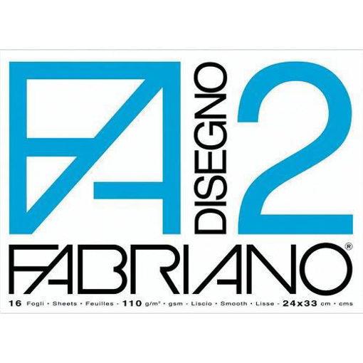 Image de ALBUM FABRIANO 33X48 F2 RUVIDO GRAMMATURA 110gr/m2, 12 FOGLI