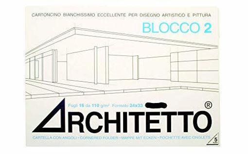 Image de ALBUM ARCHITETTO 24X33 CM 20FG 110GR LISCIO SQUADRATO