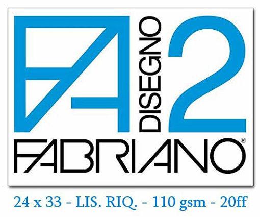 Image de ALBUM FABRIANO 24X33 F2 RIQUAD FOGLI STACCABILI FG.20