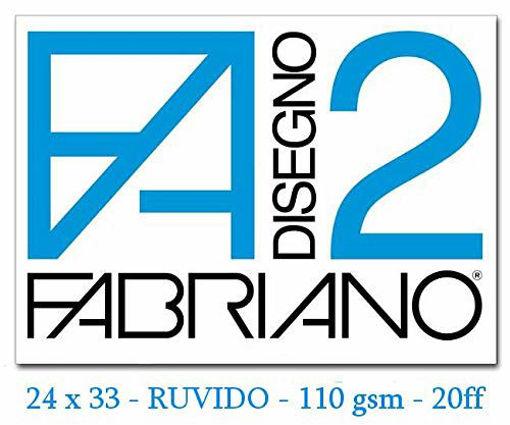 Image de ALBUM FABRIANO 24X33 F2 RUVIDO FOGLI STACCABILI FG.20