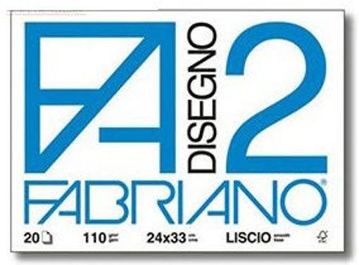 Image de ALBUM FABRIANO 24X33 F2 RIQUADRATO