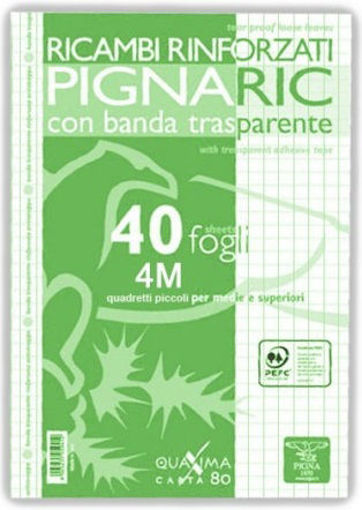 Image de RICAMBI FORATI A5 4MM 80 GR PIGNA 40 FOGLI